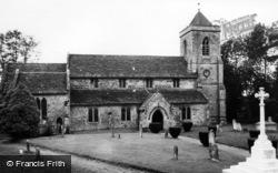 Framfield, St Thomas à Becket Church c.1955