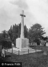 Framlingham, War Memorial 1929