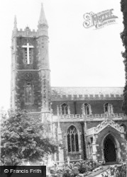 St Peter's Church c.1960, Frampton Cotterell
