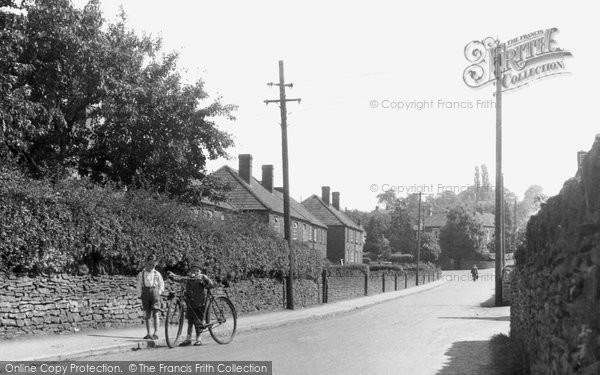 Photo of Frampton Cotterell, The Village c.1955