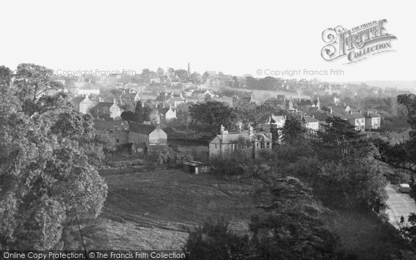 Photo of Frampton Cotterell, view from the Church Tower c1955, ref. f74028