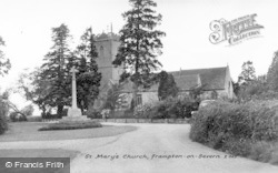 Frampton On Severn, St Mary's Church c.1955
