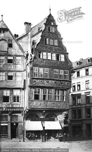 Photo of Frankfurt, Oldest House c.1878