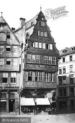 Frankfurt, Oldest House c.1878