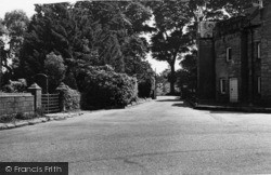 Frant, Entrance To 'wellcome Research Station' c.1955