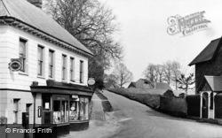 Frant, Post Office Corner c.1955