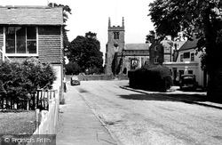 Village And St Alban's Church c.1955, Frant