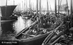 Herring Boats c.1900, Fraserburgh