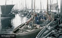 Fraserburgh, Herring Boats c.1900