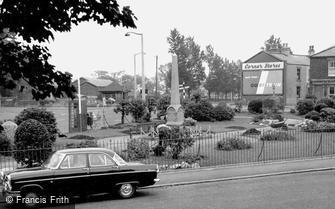 Freckleton, War Memorial c1960