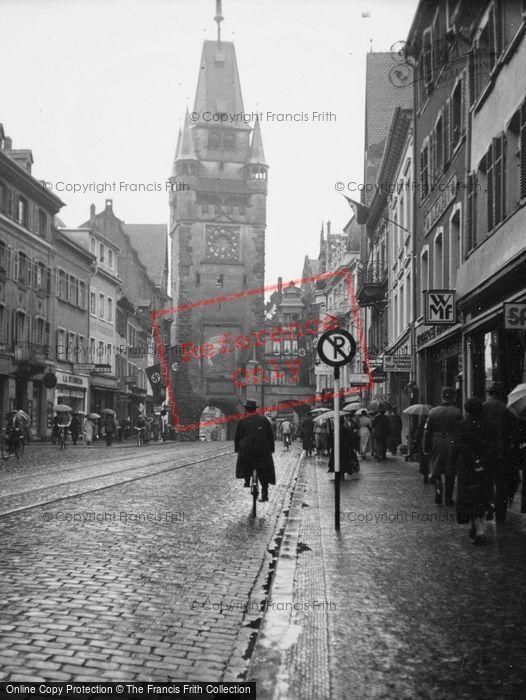 Photo of Freiburg, 1938