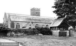 St Peter's Parish Church c.1955, Fremington