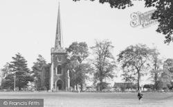 Frenchay, Church Of St John The Baptist c.1955