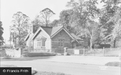 Frenchay, The Lodge c.1955