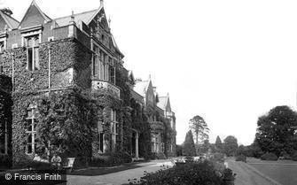 Frensham, Frensham Hill Military Hospital, the Terrace 1917