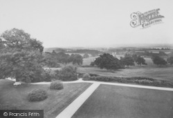 Frensham, Frensham Hill Miltary Hospital, View From Terrace 1917