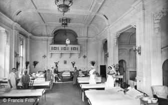Frensham, Military Hospital, Ballroom Ward 1917