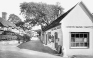 Frensham, Post Office and Bank 1935