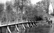 Frensham, Tancreds Ford c1955