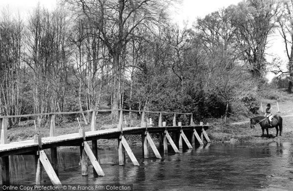 Photo of Frensham, Tancreds Ford c1955