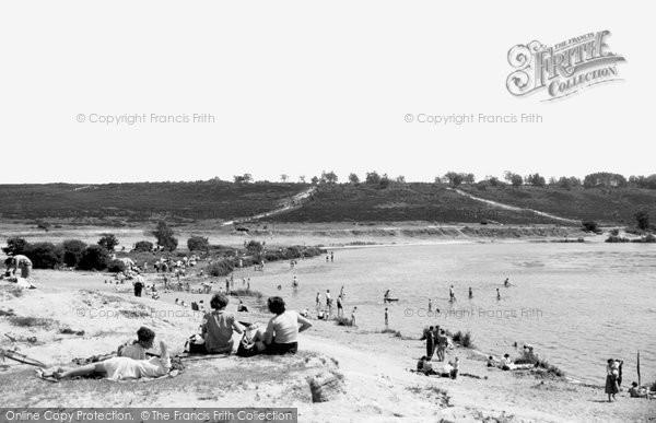 Photo of Frensham, The Big Pond c.1955