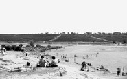 Frensham, the Big Pond c1955