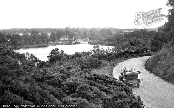 The Great Pond, Frensham, 1914 Reproduced courtesy of The Francis Frith Collection