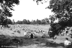Frensham, The Little Pond c.1960
