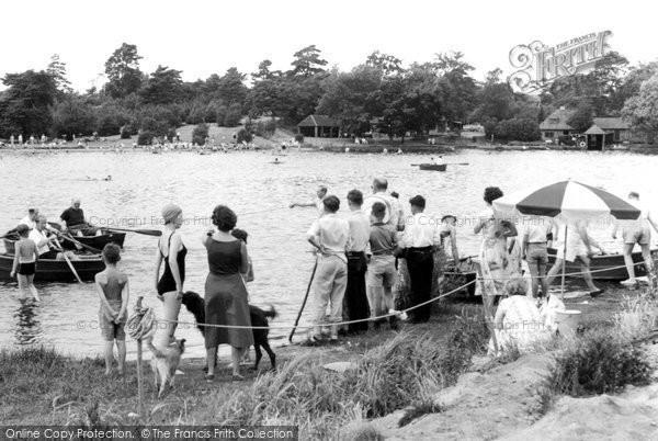 Photo of Frensham, The Little Pond c.1965