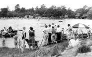 Frensham, the Little Pond c1965