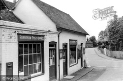 Frensham, The Post Office c.1955