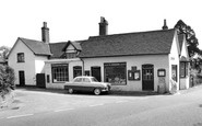 Frensham, the Post Office c1960