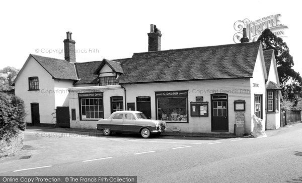 Frensham, the Post Office c1965