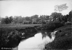 Frensham, The River Wey 1899
