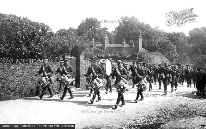 Frensham, Troops at Frensham 1917
