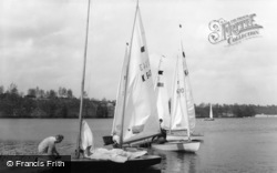 Frensham, Yachts At The Pond c.1965