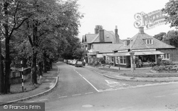 Old Town Lane And Post Office c.1965, Freshfield