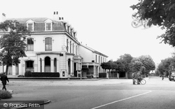 The Grapes Hotel And Ryeground Lane c.1965, Freshfield