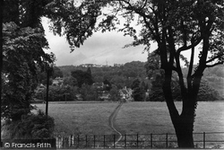 Freshford, The Inn Showing Winsley Sanatorium In Distance c.1935