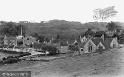 Freshford, The School And Village c.1935