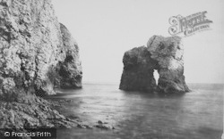 Freshwater Bay, Arch Rock c.1867