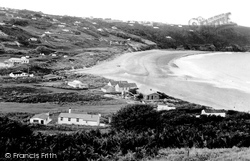 Freshwater East, Beach And Village 1950