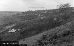 Freshwater East, Bungalow Slope 1949