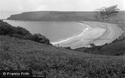 Freshwater East, The Bay 1949