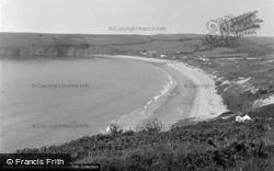 Freshwater East, The Beach 1952