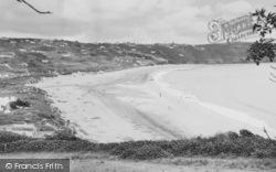 Freshwater East, The Beach 1959