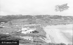 Freshwater East, The Beach And General View 1963