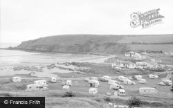 Freshwater East, The Caravan Club 1963