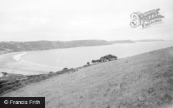 Freshwater East, The Three Headlands 1959