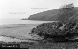 Freshwater East, Trewent Point 1952